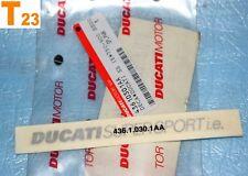 """1 autocollant de coque arrière DUCATI """"SUPERSPORT i.e."""" 750 900 800 1000 SS neuf"""