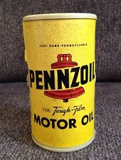 Vintage PENNZOIL Motor Oil Can AM RADIO Rare WORKS!! Advertising Piece Man Cave