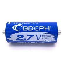 27v 3000f Super Farad Capacitor Long Foot Low Esr High Frequency Ultracapacitor