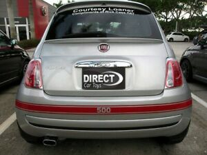 Fiat 500 2007+ Euro Style Upper Hatch Rear Flush Trunk Lip Spoiler Made in USA