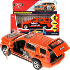 Chevrolet Tahoe Fourth Generation GMT K2UC Sport Orange Die-cast Car Scale 1:36