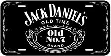 Jack Daniels Black Gold Silver Novelty Auto Car License Plate
