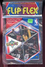 1992 Flip Flex Basketball Michael Jordan David Robinson Patrick Ewing Pack Set