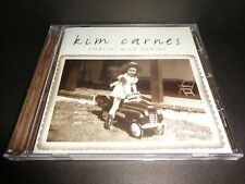 CHASIN' WILD TRAINS by KIM CARNES-Rare Collectible CD w/ Lyric Booklet-12 tracks
