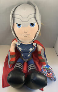 """Officially Licenced Marvel The Mighty Thor 22"""" Posh Paws Plush Soft Toy"""