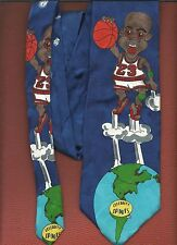 1990's Michael Jordan 3 New Celebrity Spoofed Tie (( FREE SHIPPING ))