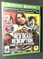 Red Dead Redemption Game of the Year Edition [ G2 Case ] (XBOX ONE / 360) NEW