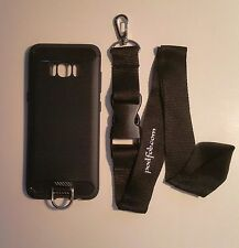 Samsung Galaxy S8 Case and Neckstrap Lanyard  Samsung S8  by  PODFOB