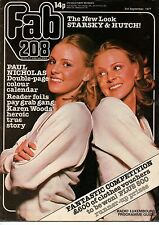 Fab 208 Magazine 3 September 1977   Paul Nicholas   Henry Winkler   Tracy Austin