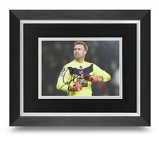 Artur Boruc Signed 10x8 Photo Display Framed Bournemouth Memorabilia Autograph
