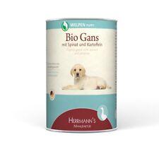 Herrmanns Welpe Bio-Gans   12x 400g Hundefutter