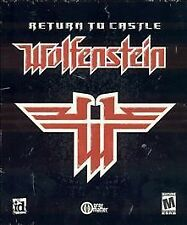 RETURN TO CASTLE WOLFENSTEIN PC CD-ROM W GAME KEY-TESTED RARE SHIPS N24 HOURS