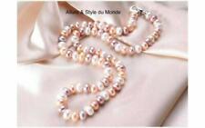 Colliers et pendentifs fantaisie en argent sterling perle