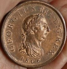 More details for 1806 penny excellent