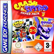 2gamkes : CRASH & SPYRO SUPER PACCO Volume 2-multilingual-für Nintendo