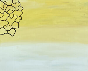 """""""A Broken Hive"""" abstract painting"""