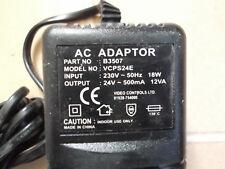 AC/DC Adattatore Di Alimentazione Rete/fornitura/Caricatore/PSU 500MA/0.5 Amp 24 V