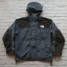 Vintage 90s North Face Goretex Mountain Guide Parka Jacket Size XL Storm Grey