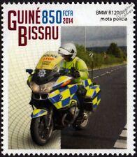 BMW R1200RT British Motor Police Motorcycle / Mororbike Stamp