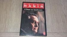 L'OURS EN LAMBEAUX / ROGER HANIN