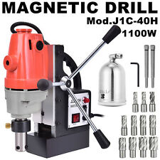 J1C-40H 13Pc 1Hss Magnetic Drill Press Cutter Set Mag Drill Annular Cutter Kit.