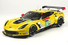 2014 Corvette C7.R #74 Le Mans 6th LMGT Pro class 1/18 scale Model BBR #P1898