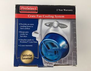 Cooling Pack System for ProSelect DELUXE or STANDARD FAN Pet Dog Crate Cage