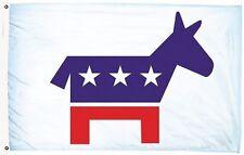 3x5 Democrat Democratic Party Flag 3'x5' House Banner Brass Grommets