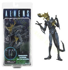 "NECA Aliens 12 Series Xenomorph Warrior Battle Head Damaged 9"" Action Figure"