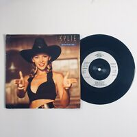 """Kylie Minogue - Never Too Late (1989) 7"""" Single Vinyl Record PWL 45"""