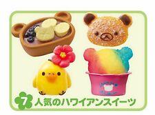 Japan Sanrio Re-ment Miniature ALOHA Hawaii San-X Rilakkuma Food rement  RARE 07