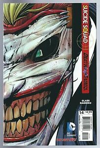 Suicide Squad #14 DC Comics Harley Quinn Joker Die-cut Cover Near Mint