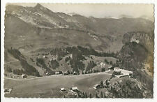 Switzerland - Klewenalp ob Beckenried, Bahnrestaurant - Real Photo Postcard