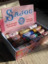 Sajou Francesa Estilo Vintage Caja De 24 Hilo de coser Cocoons-Vintage Colores