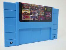 49 in 1 SNES Super Nintendo Multi Cart Game - Mario World Metroid Bomberman SF2