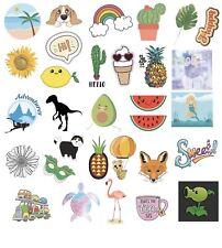 Cute Stickers Waterproof Trendy Aesthetic Stickers Vinyl Decals 30 Count