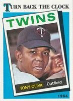 1989 Topps #665 Tony Oliva Minnesota Twins baseball card