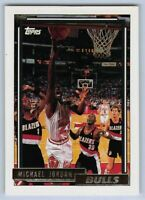 1992-93  MICHAEL JORDAN - Topps GOLD Basketball Card # 141 - CHICAGO BULLS GOAT
