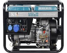KS 8100HDE Diesel Stromerzeuger Könner & Söhnen Stromaggregat