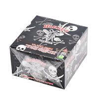 50 x Hornet SKULL King Size 110*54MM Cigarette Rolling Papers 32 Leaves/Booklet
