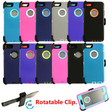 For Apple iPhone 6 / 6S Defender Case with Screen Protector & Clip fits Otterbox