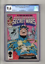 Marvel Super Heroes Secret Wars 7 CGC 9.6 White Pages 1st New Spider-Woman