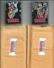Vampirella All-New - Lot of 2 Numbered Promo Cards, Case Incentives - Breygent