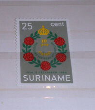 "FRANCOBOLLI STAMPS SURINAME 1964 ""STATUE OF THE KINGDOM"" MNH** STAMP (CAT.8)"