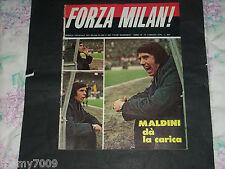 FORZA MILAN!=N°3 1974=CESARE MALDINI=ROCCO=VINCENZI=FOGGIA-CESENA BOLOGNA ROMA