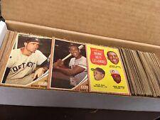 1962 TOPPS BASEBALL SET LOT <482 CARDS> BK $3305 *EX*  STARS