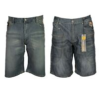 KAM New Men's Denim Cargo Combat Shorts Casual Summer Half Pants All Size