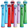 8PCS Fits For Braun Oral-B EB10 Kids Toothbrush Replacement Brush Head Stage Pro
