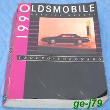 1990 Oldsmobile Trofeo Toronado Genuine GM Service Manual Great Condition Clean