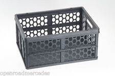 OEM GENUINE MERCEDES BENZ TRUNK SHOPPING STORAGE COLLAPSIBLE CRATE